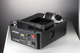 Wholesale Fogger Machine - Led fog machine with timer Led Fogger Remote And Dmx 512 control 24pcs RGB led Stage smoke machine