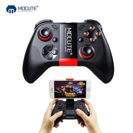 Wholesale game pad for pc - Mocute 054 Bluetooth Gamepad Crystal Button Android Joystick PC Wireless Remote Controller Game Pad for Smartphone for VR TV BOX