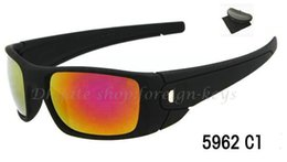 Wholesale cell pc - 1pcs New For Men women fuel cell Sunglasses with box Outdoor Sport sunglasses many colors Google Glasses.