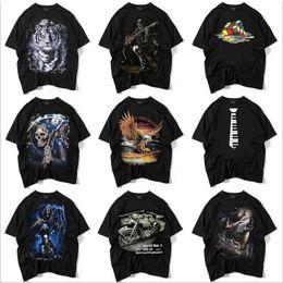 2019 vêtements d'été punk 2018 Summer Casual pour homme imprimé t-shirt hip-hop punk rock streetwear vêtements de plein air S-XXL promotion vêtements d'été punk