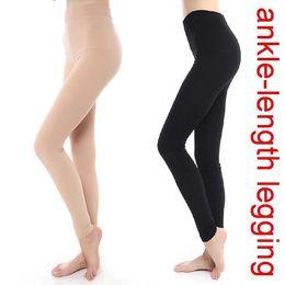 Wholesale Slimming Legs Shaper - Women Winter Thick Warm Fleece Faux Velvet lined Legging Knitted Thick Slim Leggings Tights Super Elastic pantyhose Leg Shaper
