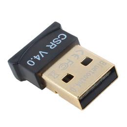 Canada Universal Mini Slim Bluetooth 4.0 V4.0 Adaptateur USB Convertisseur sans fil pour PC Mac Plug and Play DHL FEDEX EMS LIVRAISON GRATUITE Offre