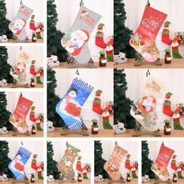 2019 decorazioni del camino Calde Nuove Calze di Natale Decorazioni per caminetti Prodotti di Natale Alberghi Bar feste Centri commerciali Pendenti Calze natalizie T7I296 decorazioni del camino economici
