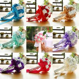 fiori di campagna artificiali Sconti Studio Matrimonio Foto Simulazione Holding Fiori Mazzi di fiori Donne Regali per feste da sposa Stile country Fiori artificiali CPA1587