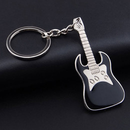 regali di violino Sconti Lega multicolore chitarra portachiavi violino creativo catena chiave strumento musicale portachiavi borsa portachiavi auto regalo di natale per le donne ragazza h63f
