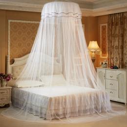 Deckennetz online-Lace Curtain Ceiling Net Moskitonetz für Doppelbett Home Bed Canopy für Erwachsene Moskitonetze für Kinder Baby moustiquaire
