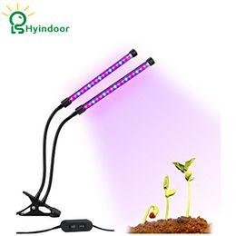 Wholesale Grow Energy - LED Lighting 10W Grow Light Lamp Plant Grow Lights Double-clip Adjustable& Energy-saving For Plants Growing
