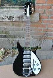 Wholesale Model Guitar - Custom black 325 381 330 360 Model 3 pickups electric Guitar China Guitar HOT SALE wholesale guitars from china