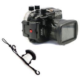 Canada Etui étanche pour caméra de plongée sous-marine étanche pour Canon EOS M3 EOS-M3 III ajustement rapide cheap eos camera lenses Offre