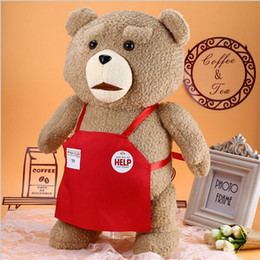 Schöner großer teddybär online-Hochwertige schöne Plüschtiere 48cm Höhe 18,9 Zoll Teddybär Big Embrace Bear Doll