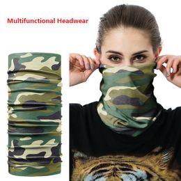 Wholesale Wholesale Sport Headbands - New unisex skiing Scarves Multifunctional scarfs Headbands Outdoor Sports Turban Sunscreen Magic Scarves Veil Cycling Seamless bandanas