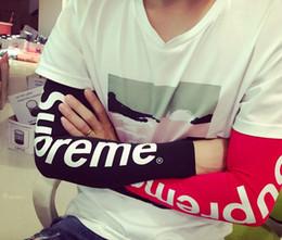 2019 handschuhe taktisch grün 1pcs beste Qualität 2018 hotest Basketball im Freienärmel-Sonnenschutz schnell trocknende Hülsen im Sommer Luxusmarke fasmous Buchstabe Handschuhe