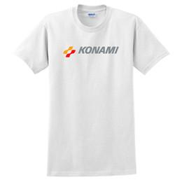 Konami T-shirt de jeu vidéo rétro japonais blanc S-5XL ? partir de fabricateur