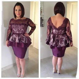 Wholesale Cheap Chic Long Evening Dresses - Chic Long Sleeve Sheath Mother Of The Bride Dresses Cheap Lace Appliqued Backless Mothers Formal Wear Plus Size Evening Gowns