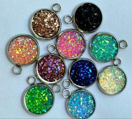 Wholesale European Style Bead Earrings - Mix 12 Style Big Hole Loose Beads charm For earrings necklace DIY Jewelry Bracelet For European Bracelet&Necklace