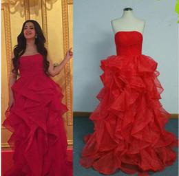 2019 barato tornozelo comprimento vestidos casuais 2019 nova primavera vermelho noite vestidos reais imagens vestido de baile plissados vestidos de noite casais vestidos de festa vestidos de novia