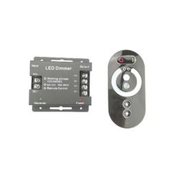 Toque RF Controle Remoto 12 V 24 V para LED Strip Lâmpada Brilho Ajustável 6A X 3CH 12 Volt Dimmer Interruptor CE ROSH 2 Anos de Garantia de