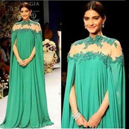 6416cbf83ce ivory lace maternity maxi dress Coupons - 2018 Emerald Green Dubai Evening  Dresses High Sheer Neck