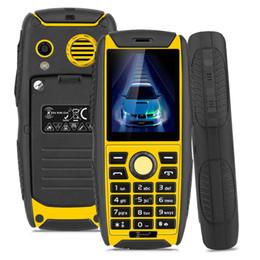 Wholesale Shockproof Waterproof Gps Phone - Original Kenxinda Proofing W3 Smartphone 2.2 Inch Waterproof Shockproof 32MB+32MB Mobile Phone 2G Dual SIM 2000mAh Unlock NO smartCell Phone