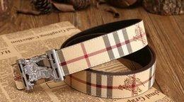 Wholesale Tiger Head Charms - belt high quality brand designer belts luxury fashion belts for men copper type tiger head belt men and women waist cowhide belt 105CM-125CM