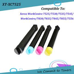 Cartuchos de tóner compatibles con xerox online-Xerox XC7525, cartucho de tóner compatible para Xerox WorkCentre 7525/7530/7535/7545/7556/7830/7835/7845/7855, 006R01509