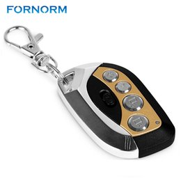 car alarm auto security Promo Codes - Practical 433 MHz Auto Remote Control Self Learning Fixed Code Self Copy For Garage Door Car Alarm Home security