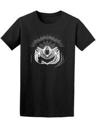 Camiseta de Lotus Flower Chalk Sketch para hombre - Imagen de manga corta con cuello redondo Hombres promoción 2018 Camiseta de verano con cuello redondo para hombre desde fabricantes