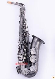 Wholesale copper alto saxophone - Brester BAS-668G Nickel Antique Copper Simulation Alto Saxophone
