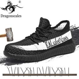Мода защитная обувь мужская сталь Toe обложки рабочие кроссовки лето дышащий инструменты низкие сапоги противоскользящая защитить обувь от