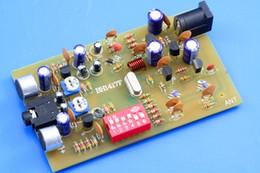 Цифровое радио dvd-плеер mp4 онлайн-Бесплатная доставка цифровой FM-передатчик радио плееры станции 0.1 W PLL стерео BH1417F комплект