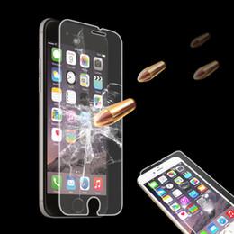 protección de pantalla de cristal premium Rebajas Nuevo UV Protection 4Pcs Premium Real Protector de pantalla de vidrio templado película para IPHONE 4 / 4S / 5 / 5S / 5SE