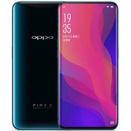 """k1 téléphones cellulaires Promotion Original OPPO Find X 4G LTE téléphone mobile 8 Go de RAM 128 Go / 256 Go de ROM Snapdragon 845 Octa Core 6.42 """"Plein écran 25 MP 3D Identité faciale Smart Phone"""