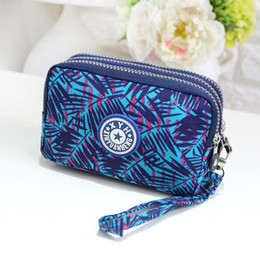 Wholesale Messenger Ups - Fashion Clutch Bags Hand Wash Canvas Bag Purse Women Candy Colors Ladies Mini Bag Cell Phone Solid New Style Messenger Make Up Bags