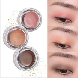 Wholesale High Trading - YANQINA Monochrome Pearl Eyeshadow Stage Make-Up Eyeshadow Powder High Pearl Glitter Foreign Trade Makeup