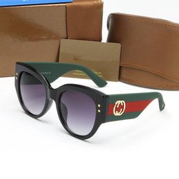 Wholesale Designing Brand Logo - Best selling italy brand 3864 sunglasses bee logo women fashion big frame cool style eyeglasses luxury design sun glasses female