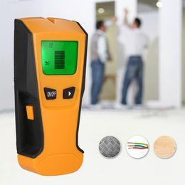 Canada 3 détecteurs de métaux In1 multifonctions LCD numérique détecteur de murs en métal cheap cable finder Offre