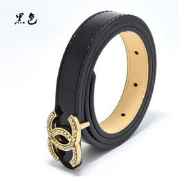 Diseño de jeans de niña online-Nueva calidad superior de la PU de los niños cinturones de diseño de la marca de los niños cinturones de cintura para pantalones pantalones chicas jeans cinturón de hebilla metálica