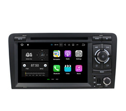 "2020 audi dvd di android dell'automobile DVD da 1024 * 600 HD 7 ""Android 7.1 Car Radio GPS per autoradio DVD per Audi A3 S3 2003-2011 con 2 GB di RAM Bluetooth WIFI Mirror-link audi dvd di android dell'automobile economici"