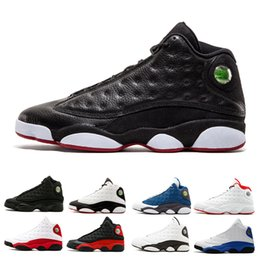 Wholesale Mens Basketball Shoes Sale - Hot sale 13 13s Men Basketball Shoes Black Cat white Altitude bred Hyper Royal Playoffs Chicago He Got Game Mens Sports Shoes Sneakers