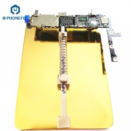 Wholesale Phone Motherboards - FIXPHONE High Quality 13*9cm Fixture Motherboard PCB Holder Mobile Phone Mainboard Repair Tool For iPhone X 8 7 6