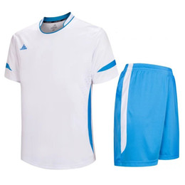 Wholesale plain football tops - BN-7 Top quality breathable football jerseys plain soccer uniforms men soccer jersey adult print your own logo hot on sell LD=5015