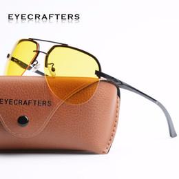 nachtgläser Rabatt Eyecrafters Aluminium Magnesiumlegierung Mens Driving Sonnenbrille Brille Blendlicht Nachtsichtbrille Eyewear