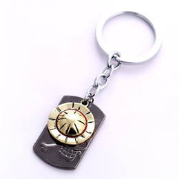 Wholesale one piece anime keychain - One Piece Key Chain Luffy Strawhat Key Rings For Gift Chaveiro Car Keychain Jewelry Anime Key Holder Souvenir YS11120