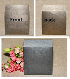 Wholesale paper envelope sleeves - 5.24 100pcs 12.5*12.5cm Paper CD Sleeve Discs DVD Packaging Bag Box Retail CD Case Cover Holder Envelope For Wedding Event Party