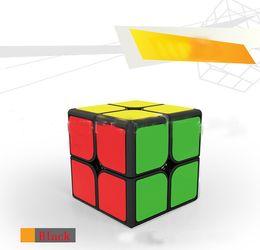 fantasia branca Desconto Puzzles Cubo Mágico cavaleiro quadrado de segunda ordem / preto e branco cor fantasia mágica quadrado de segunda ordem jogo de corrida cubo