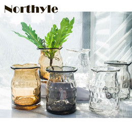 Wholesale Vase Modern Glass - VS132635 Glass Vase home decoration flower vase wedding decoration flower pot garden decoration