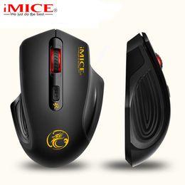 Wholesale laptop power saving - Ergonomics 2.4GHz Wireless Mouse USB 3.0 Receiver Optical Computer Mouse Power Saving Design Cordless Gaming Mice For PC Laptop