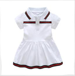 Mejor venta del nuevo vestido de verano del bebé 2019 solapa de algodón ropa de bebé recién nacido 9 meses -3 años de edad vestido desde fabricantes