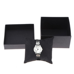 Wholesale Cardboard Christmas - 1PC Watch Boxes Cardboard Present Gift Box saat kutusu Rectangle Quartz Watches Packing Box Jewelry Christmas Gift Packing