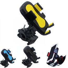 2019 scuotere il telefono Supporto universale per bici da bici Portabiciclette Manubrio Supporto per culla 360 Rotazione Anti shake Supporto per moto stabile per iPhone Samsung LG Huawei scuotere il telefono economici